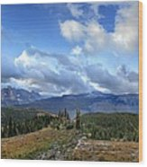 Granite Park - Glacier National Park Wood Print