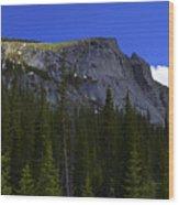 Granite Sun Wood Print