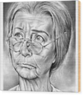 Granny Wood Print