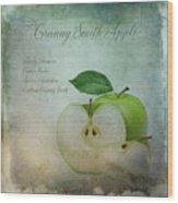 Granny Smith Wood Print