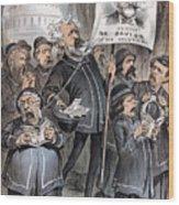 Grant Cartoon, 1880 Wood Print