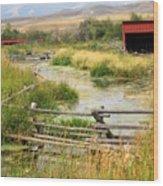 Grants Khors Ranch Vertical Wood Print