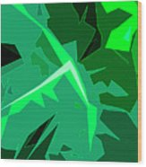Grape Leaves Wood Print