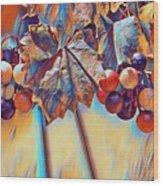 Grapevine Art Wood Print