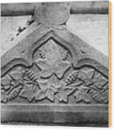 Grapevine Carving Wood Print