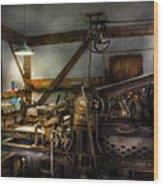 Graphic Artist - Master Press Wood Print