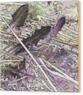 Grass #3 Wood Print