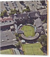 Grass Tennis Hall Of Fame 194 Bellevue Ave Newport Ri 02840 3586 Wood Print