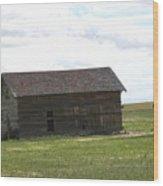 Grassland Farm Wood Print