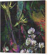 Grasslands Series No. 7 Wood Print