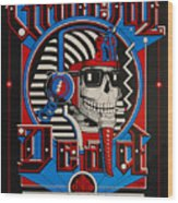 Grateful Dead Berkeley Wood Print