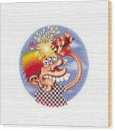 Grateful Dead Europe 72' Wood Print