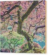 Gratitude Tree Wood Print