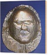 Grave Mask Wood Print