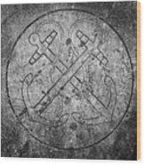 Grave Of Cadet Soady Macroom Ireland Wood Print