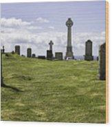 Grave Of Flora Macdonald Wood Print