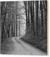 Gravel Lane Wood Print