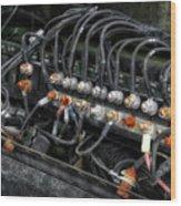 Gravel Pit Paystar 5000 Truck Wiring Wood Print