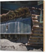 Gravel Pit Warrior Power Screen 03 Wood Print
