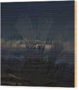 Gravitational Pull Wood Print