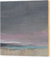Gray Sky Wood Print