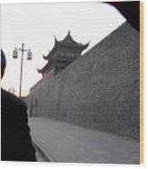 Gray Wall Wood Print