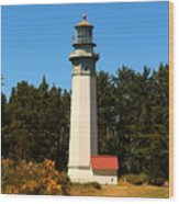 Grays Harbor Light Station Wood Print