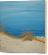 Grayton Beach Dunes Wood Print