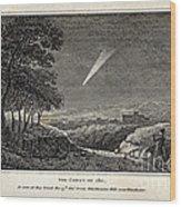 Great Comet Of 1811 Wood Print