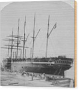 Great Eastern 1858-59 Wood Print