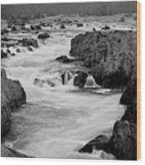Great Falls Potomac Wood Print