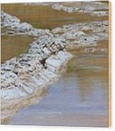 Great Fountain Geyser Firehole Lake Drive Wood Print