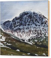 Great Gable Wood Print