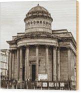 Great George Street Congregational Church Liverpool Wood Print
