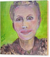 Great Grandmother Adora Wood Print by Patricia Taylor
