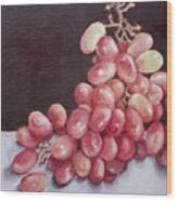 Great Grapes 2 Wood Print