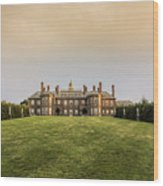 Great House At Castle Hill Wood Print