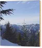 Great Northwest Wood Print