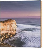 Great Ocean Road Seascape Wood Print