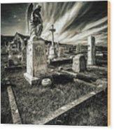 Great Orme Graveyard Wood Print