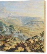 Great Peak Of The Amatola-british-kaffraria  Wood Print