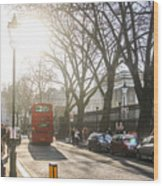 Great Russell St. In The Afternoon Wood Print