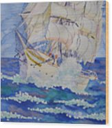 Great Sails.2006 Wood Print