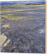 Great Salt Lake Basin Wood Print