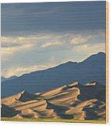 Great Sand Dunes, Colorado Wood Print