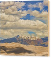 Great Sand Dunes National Monument Wood Print by James BO  Insogna