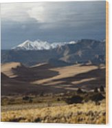 Great Sand Dunes National Park Wood Print