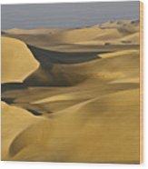 Great Sand Sea Wood Print