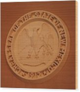 Great Seal Of The State Of New Mexico 1912 Wood Print