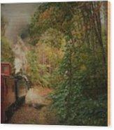 Great Smokey Mountain Railroad Wood Print